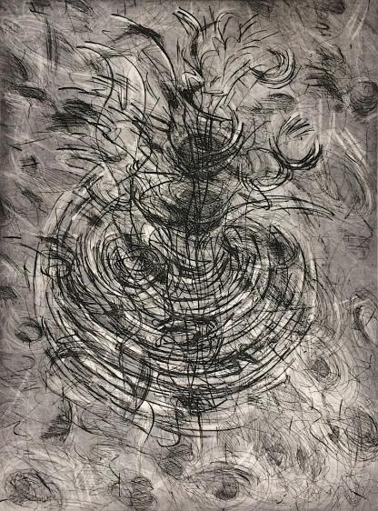 Patti Trimble etching 1986 1