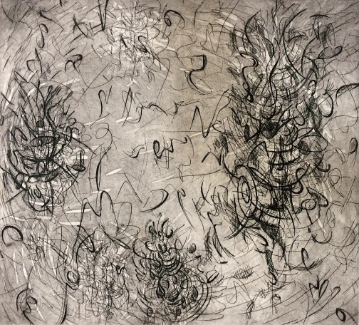 Patti Trimble etching 1986 9