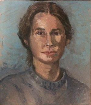 Patti Trimble self-portrait 1983