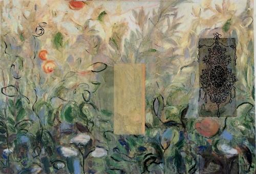Patti Trimble garden painting 2017